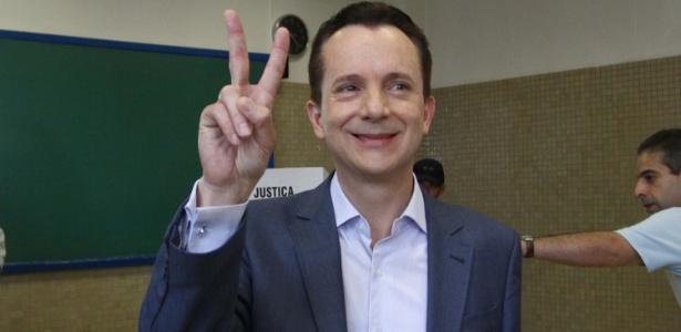 Celso Russomanno (PRB) vota em colégio na zona sul