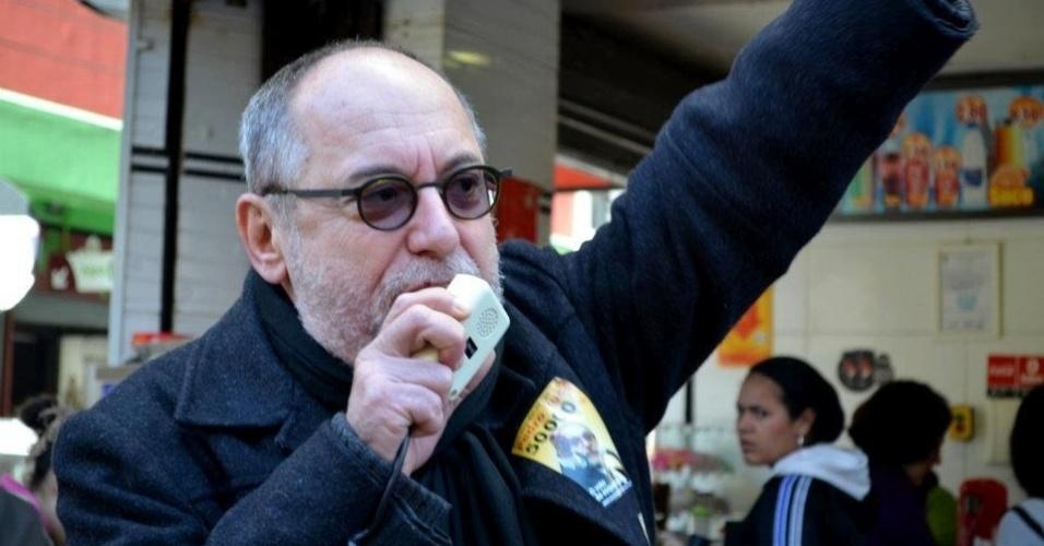 26.jul.2012 - O candidato a vereador Pedro Ruas