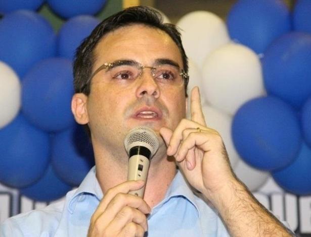 5.set.2012 - O candidato a vereador de Fortaleza, Capitão Wagner