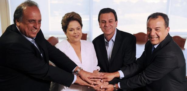 Com apoio do governo federal, Rio se beneficiou de mais recursos da União