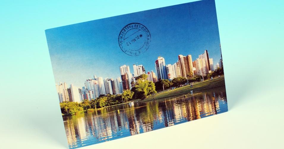 14.out.2012 - Cartão postal mostra o paredão de prédios do centro de Goiânia, capital de Goiás. A cidade foi tema de reportagem sobre o contraste dela com municípios vizinhos