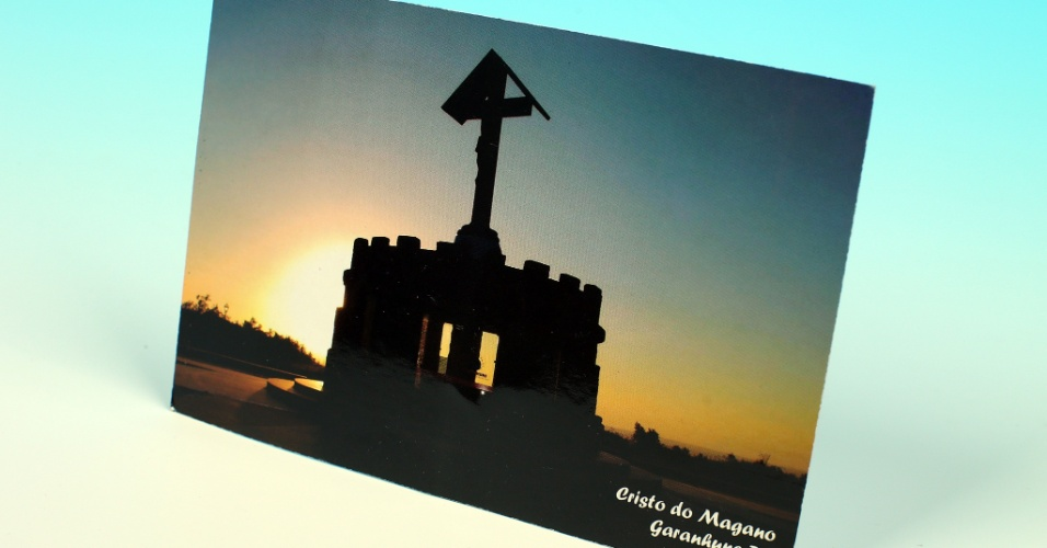 """14.out.2012 - Cartão postal mostra paisagem de Garanhuns, cidade do interior pernambucano que é a terra natal de Lula. Reportagem do """"UOL pelo Brasil"""" revelou que o PT nunca venceu por lá, mas candidatos disputavam o apoio de Lula"""