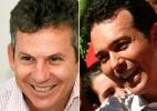 Reação de Lúdio Cabral ameaça favoritismo de Mauro Mendes e deixa disputa indefinida em Cuiabá (Foto: Divulgação/Montagem)