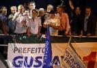 """Em discurso no centro de Curitiba, Fruet reforça parceria com governo federal e pede """"relação civilizada"""" a Richa - Heuler Andrey/UOL"""