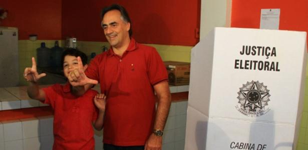 Luciano Cartaxo (PT) foi eleito prefeito de João Pessoa (PB)