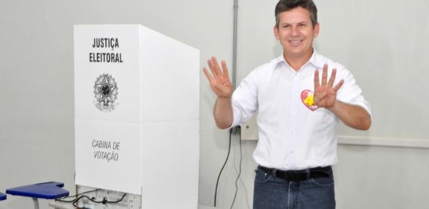 Candidato do PSB, Mauro Mendes se elegeu prefeito no 2º turno