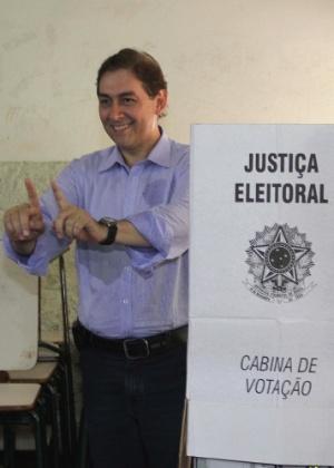 Alcides Bernal foi eleito no segundo turno nas eleições municipais de 2012 - Moisés Palácios/Futura Press/Estadão Conteúdo