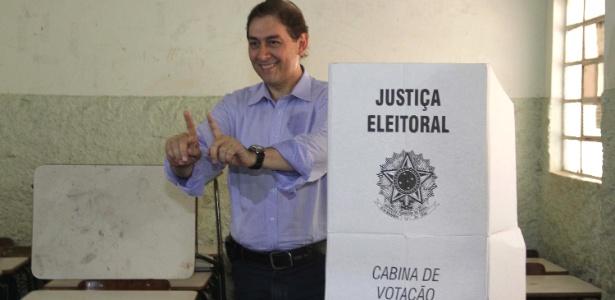 Alcides Bernal (PP) foi eleito neste domingo (28) prefeito de Campo Grande