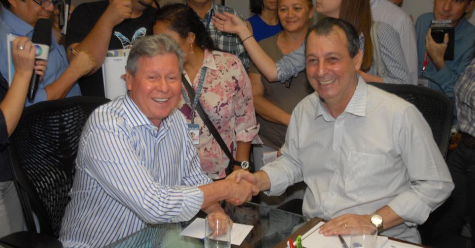 Omar e Artur anunciam Ação Conjunta entre governo e Prefeitura de Manaus